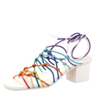 Jamie Rainbow Knot Heel | Marissa Collections