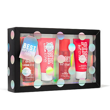 Warm & Cozy and Hot Crush Gift Set - PINK - Victoria's Secret
