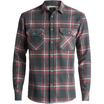 Quiksilver Fitz Forktail Flannel Long Sleeve Shirt