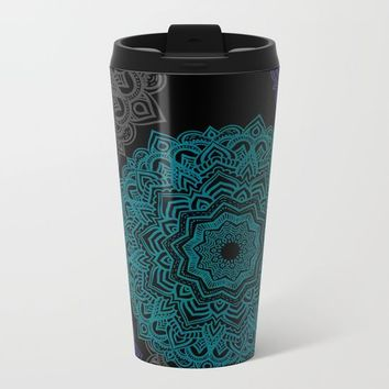 My Spirit Mandhala | Secret Geometry Metal Travel Mug by Azima