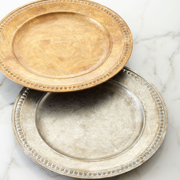 Beaded-Edge Charger Plate - Neiman Marcus