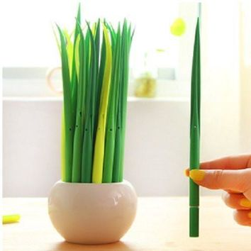 24PC Blade of Grass Ballpoint Pens