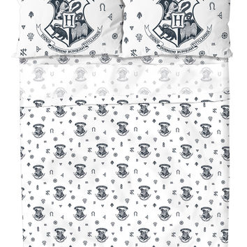 Harry Potter Hogwarts Crest Full Sheet Set