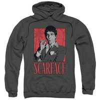 Scarface - Tony Adult Pull Over Hoodie