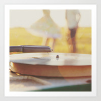 Life is the music, Love is the song. Art Print by Butterfly Photography