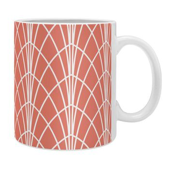 Heather Dutton Arcada Persimmon Coffee Mug