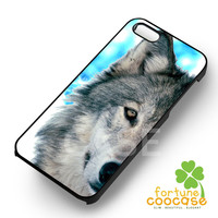 Wolf Face Case -3 for iPhone 4/4S/5/5S/5C/6/6+,samsung S3/S4/S5/S6 Regular/S6 Edge,samsung note 3/4