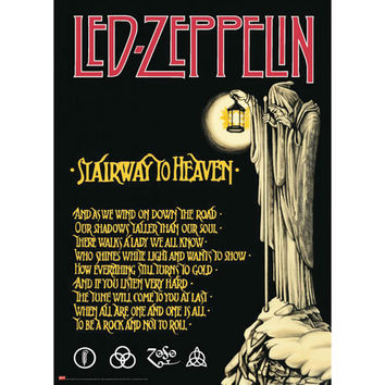 Led Zeppelin - Subway Poster
