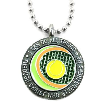 Tennis Phil 413 Necklace Made In The USA
