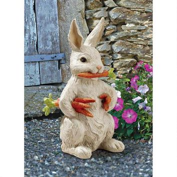 Carotene the Bunny Rabbit Garden Statue