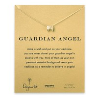 Dogeared Guardian Angel Angel Wings Necklace Gold Dipped - 16 inches