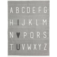 Cotton Rug with Printed Motif - from H&M