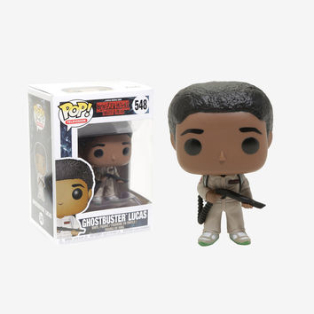 Funko Stranger Things Pop! Television Ghostbuster Lucas Vinyl Figure