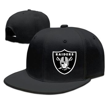 Oakland Raiders Cotton Unisex Adult Womens Snapback Caps Mens Baseball Hats