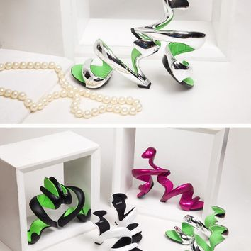 Women's Shoes New Fashion Ocandy Snake Pumps