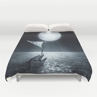 Set Adrift II Duvet Cover by Soaring Anchor Designs | Society6