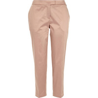 River Island Womens Light pink cropped cigarette pants