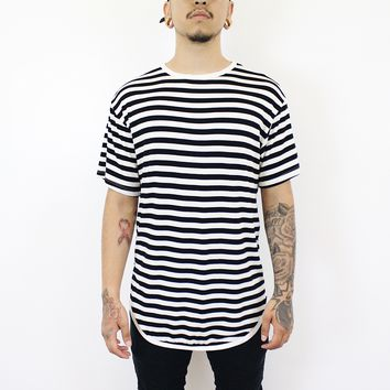 Jerry Stripe T-shirt (White/Black)
