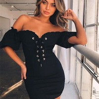 Summer Women's Fashion Sexy Bra One Piece One Piece Dress