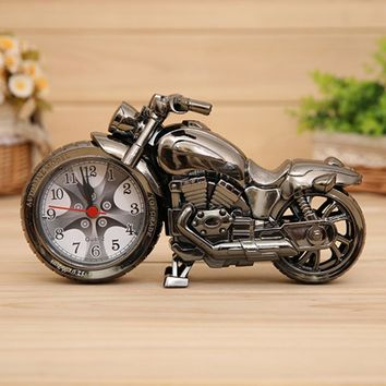 Car Clock Motorcycle Model Dashboard Clock Automotive Styling in Car Decoration Automobile Digital Ornament Pendant Accessories