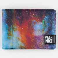 Yea.Nice Galaxy Wallet Space Blue One Size For Men 22123427201