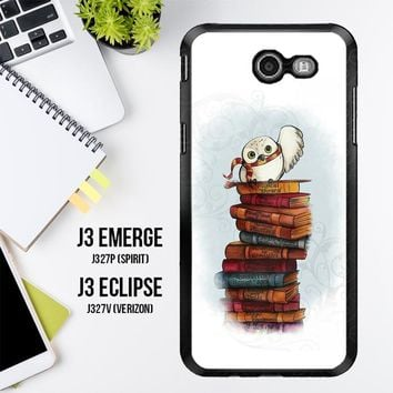 Hedwig Harry Potter Owl X4756 Samsung Galaxy J3 Emerge, J3 Eclipse , Amp Prime 2, Express Prime 2 2017 SM J327 Case