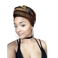 Brown Goddess Headwrap