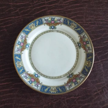 """Rosenthal Ivory Parsival Bread Plate  2561 China Round 6.25"""""""