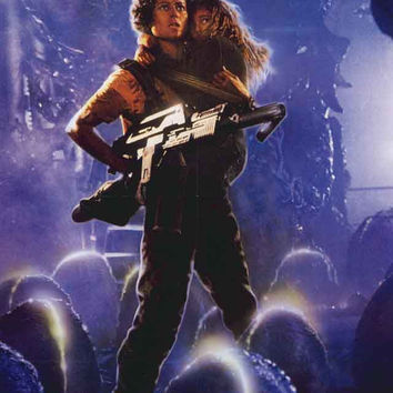 Aliens Movie Poster 11x17
