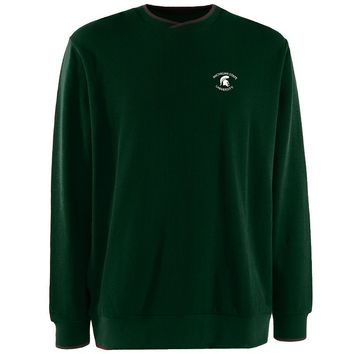 Michigan State Spartans Executive Crewneck Sweater
