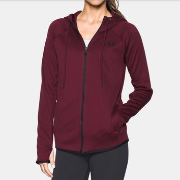 Under Armour 1282372 | Women's Hoodie Storm Fleece | Red | Medium Size