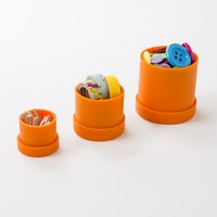 Squish Round Containers | Brit + Co. Shop | DIY Online classes, DIY kits and creative products from makers you'll love.