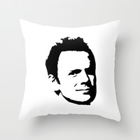 Greendale: JEFF WINGER Throw Pillow by Catherine