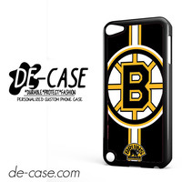 Boston Bruins Logo DEAL-2057 Apple Phonecase Cover For Ipod Touch 5