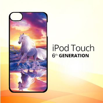 Horses Running Y1681 iPod Touch 6 Case