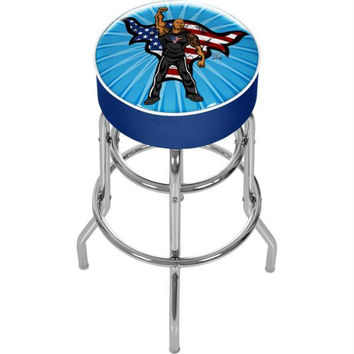 WWE Kids The Rock Padded Bar Stool
