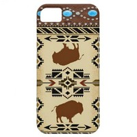 """Buffalo"" Native American Western IPhone 5 Case from Zazzle.com"