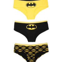 DC Comics Batman Classic Hot Pants 3 Pack