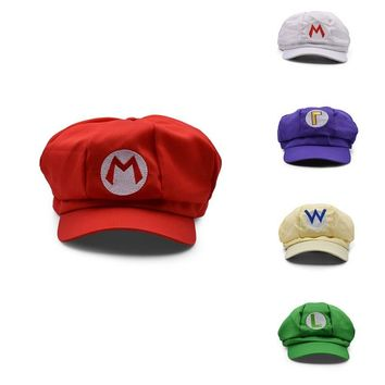 Super Mario Hat - 5 Colors