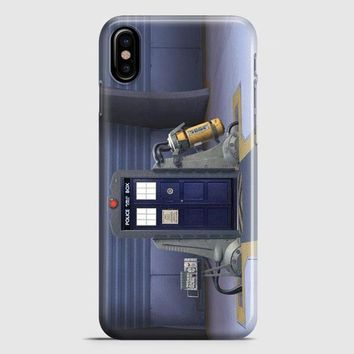 Tardis Monster Inc iPhone X Case