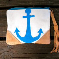 Nautical Anchor Wallet, Summer Wallet