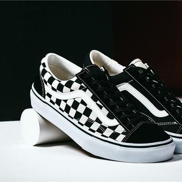 "BILLY'S x Vans Style 36 ""Crazy Check"" ZD-66 35-44"