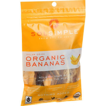 Sol Simple Solar Dried Fruit - 1.5 oz - Case of 8