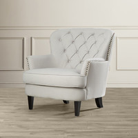 House of Hampton Greene Tufted Upholstered Club Chair