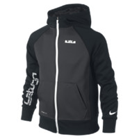 Nike LeBron Preference Full-Zip Boys' Hoodie - Anthracite