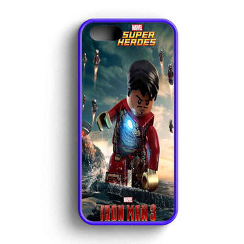 Lego Iron Man Action War iPhone 5 Case iPhone 5s Case iPhone 5c Case