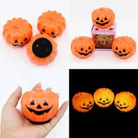 1 pcs Halloween Carnival Party Jack-O-Lantern LED Pumpkin Night Light  Decoration Props