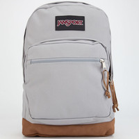 Jansport Right Pack Backpack Gray Rabbit One Size For Men 25769311501
