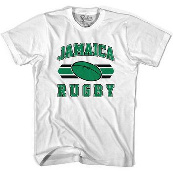 Jamaica 90's Rugby Ball T-shirt-Adult