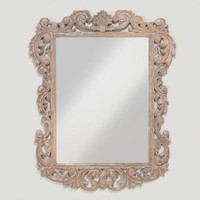 Isla Carved Mirror Collection - World Market